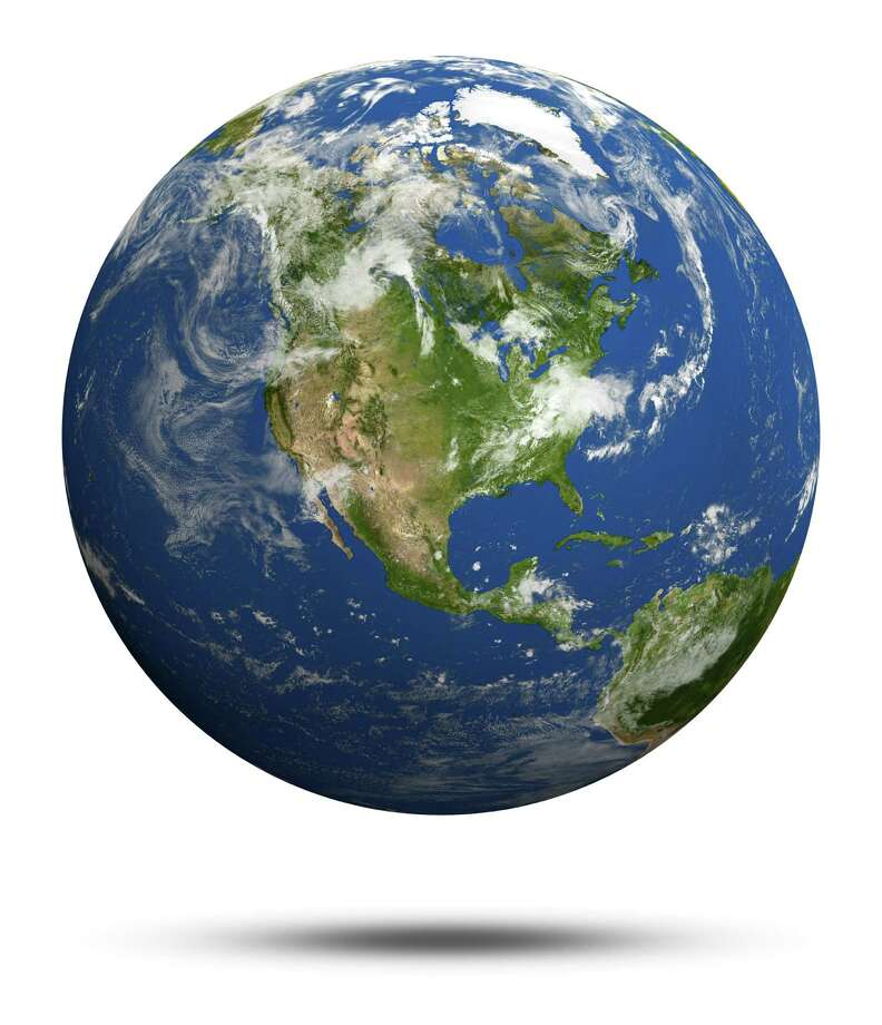 America. Earth globe model, maps courtesy of NASA / 1xpert - Fotolia