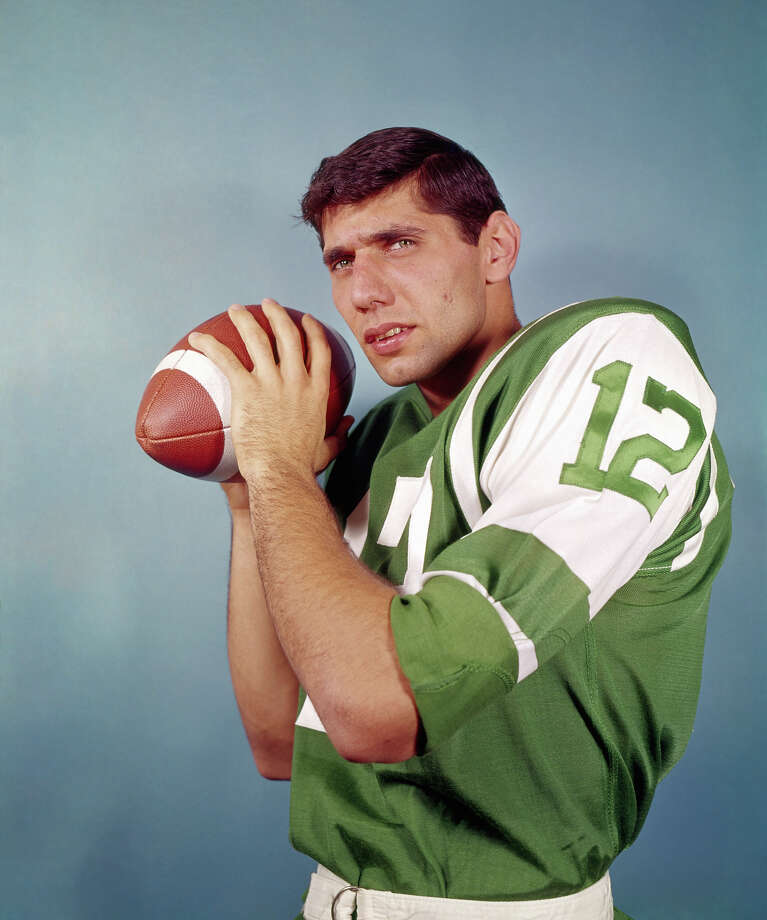 Broadway Joe hits the big seven-oh May 31. Here's a short look at his  career, beginning with this photo from training camp in Peekskill, NY in  1965 — his rookie year with the Jets. Photo: Olen Collection, Diamond Images/Getty Images / 1965 Diamond Images