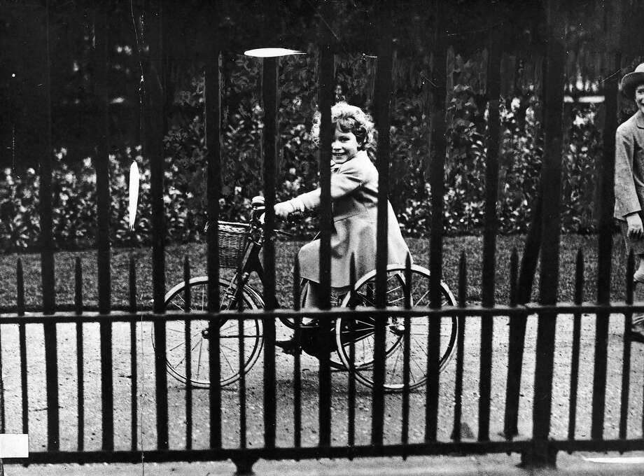 Princess Elizabeth riding her tricycle, 1931. Photo: Keystone, Getty Images / 2004 Getty Images