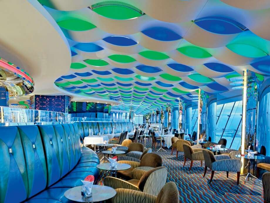 After dinner, grab a drink in the sleek Skyview bar.Source: Business Insider Photo: Business Insider