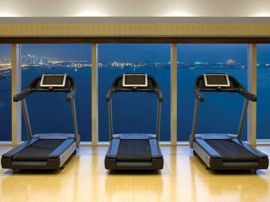 Of course there's a full fitness center here too. But instead of watching TV while on the treadmill, you can watch the boats float by in the Gulf.Source: Business Insider Photo: Business Insider