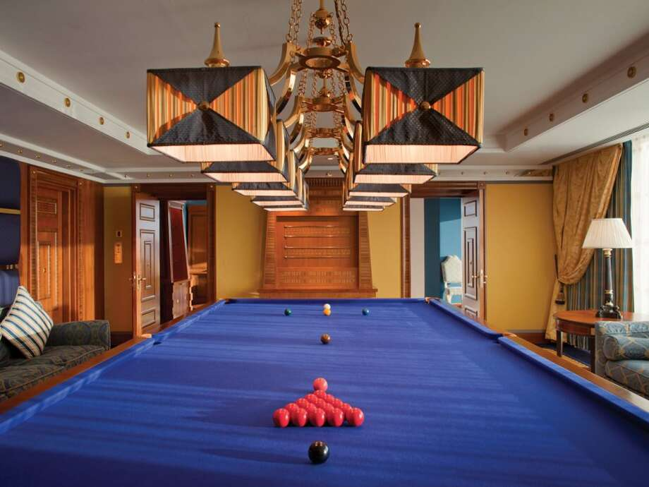 You can play snooker with friends right in your room.Source:Business Insider Photo: Business Insider