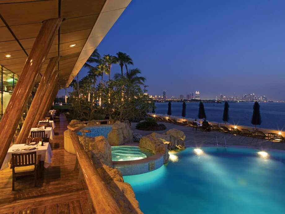 Or sit outside at the bar overlooking the outdoor pool.Source: Business Insider Photo: Business Insider