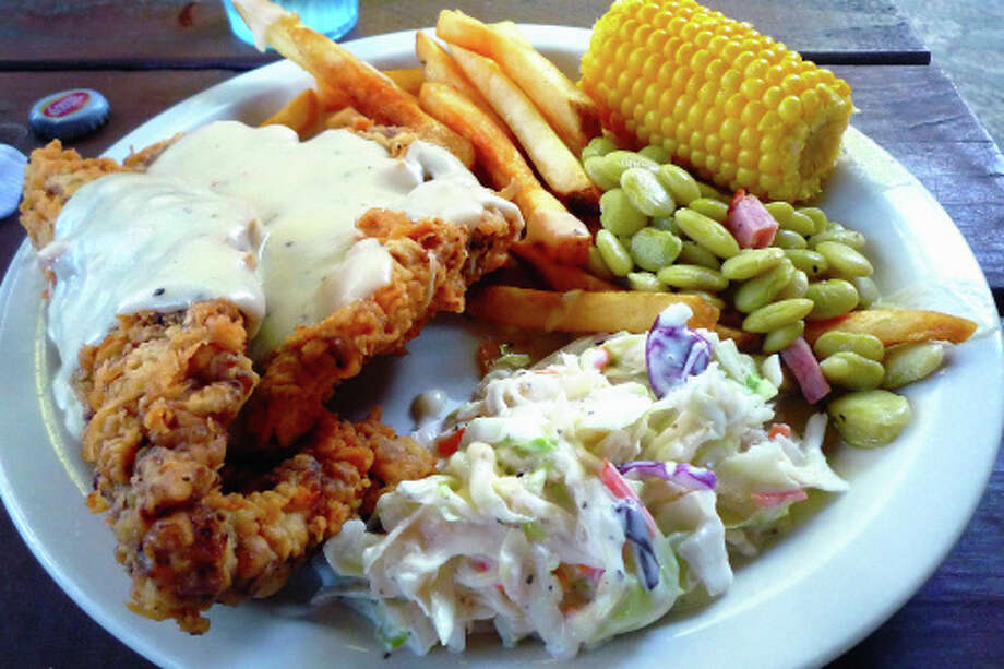 Oklahoma State meal: Chicken fried steak Photo: David Hensley, Getty Images/Flickr RF / Flickr RF