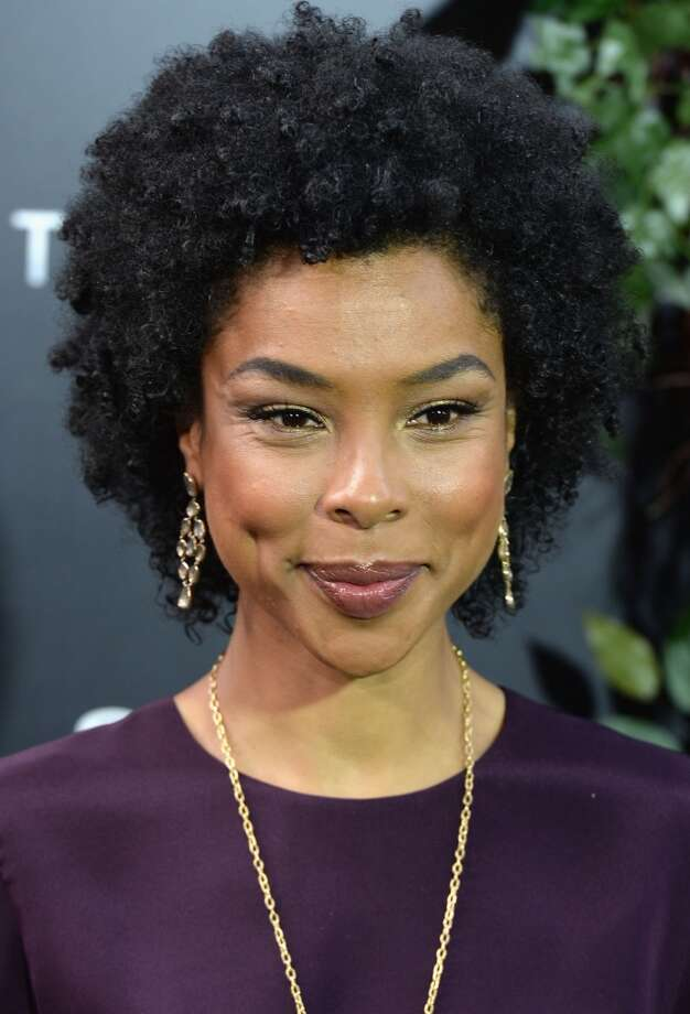 "NEW YORK, NY - MAY 29:  Actress Sophie Okonedo attends the ""After Earth"" premiere at Ziegfeld Theater on May 29, 2013 in New York City.  (Photo by Andrew H. Walker/Getty Images)"