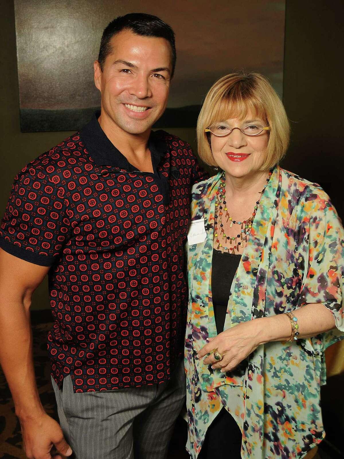 Randall Gonzales and Ellen Levin