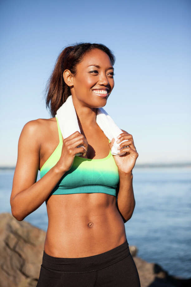 Towels that are used after a workout will need to be washed more often. Photo: Take A Pix Media, Getty Images/Blend Images / Blend Images