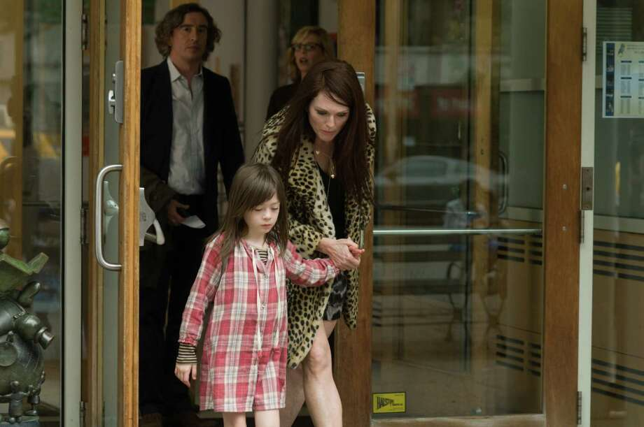 """Maisie (Onata Aprile, left) faces an uphill battle dealing with her loving, yet disturbed, mom (Julianne Moore) in """"What Maisie Knew."""" Photo: Nicole Rivelli, Handout / ONLINE_YES"""