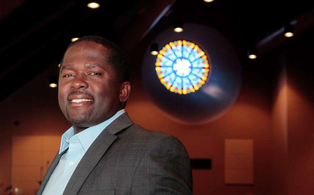 Rev. Emmanuel Jackson, who is the pastor at Living Word Lutheran Church in Katy. (Billy Smith II / Chronicle)