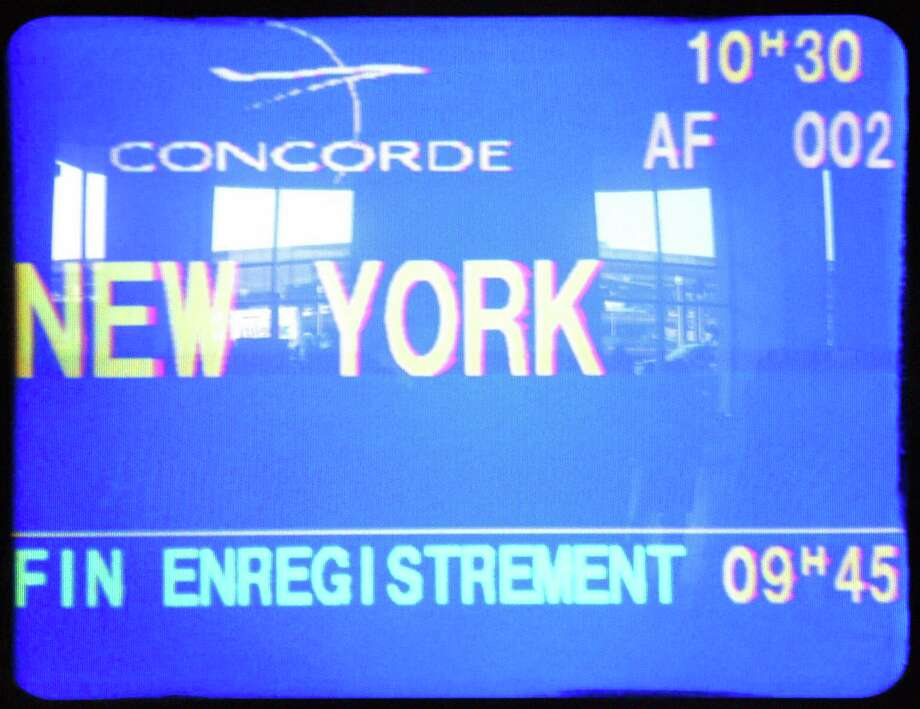 But the post-Sept. 11 slump in air travel exacerbated ongoing economic issues with the Concordes, which had also become dated. Both British Airways and Air France announced that they would retire the jets in 2003. Here, a screen announces the last Concorde flight from Paris to New York on May 30, 2003. Photo: JOEL SAGET, AFP/Getty Images / 2003 AFP