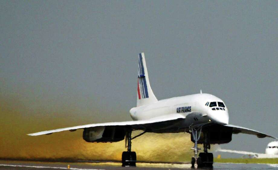 Air France retired its supersonic Concorde airliner on May 31, 2003. The other Concorde operator, British Airways, followed suit that October.The Concorde could carry 100 passengers 4,143 miles, cruising at Mach two, and was one of just two supersonic airliners ever to enter service. Click on for a tour of the history of the Concorde and other supersonic airliner efforts. Photo: JOEL SAGET, AFP/Getty Images / 2010 AFP