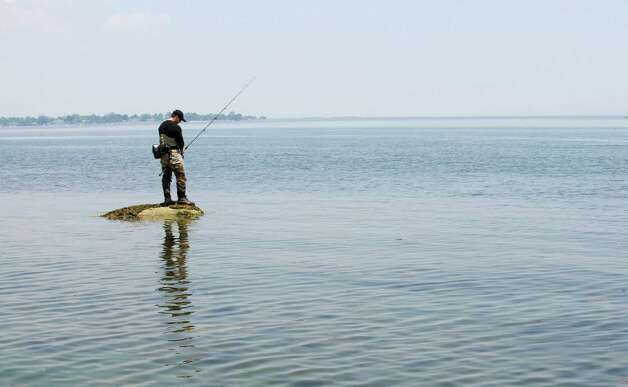 Stamford man in fishing reality show stamfordadvocate for Long island sound fishing