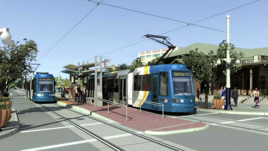 Tucson's project is still a long way from this artist's rendering. Photo: Courtesy, City Of Tucson