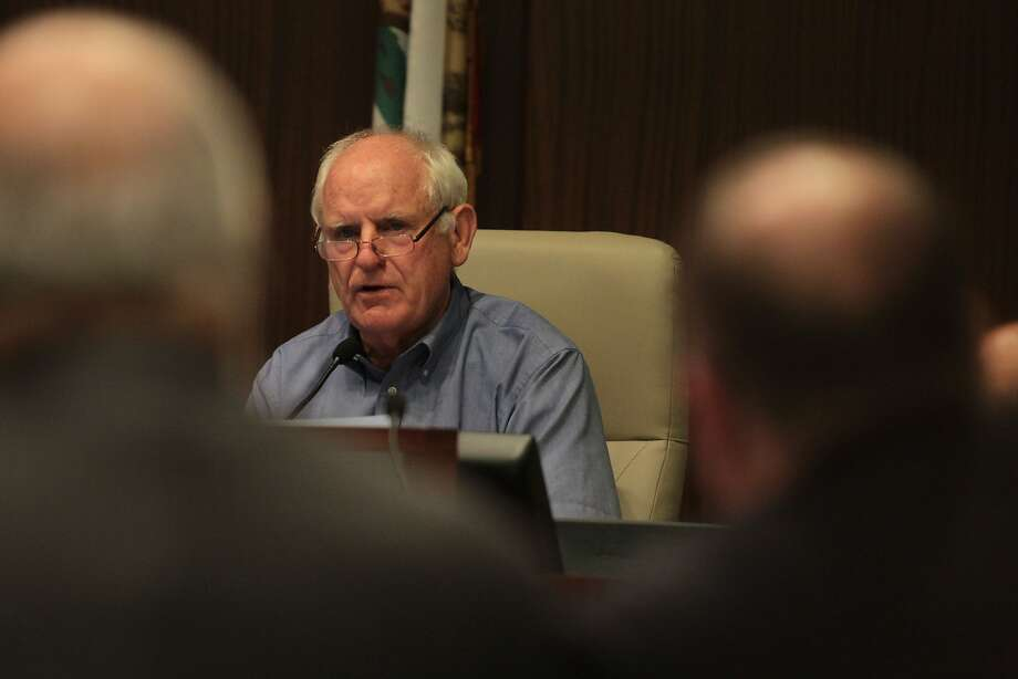 Richmond Mayor Tom Butt blasted the letter. Photo: Mathew Sumner, Special To The Chronicle