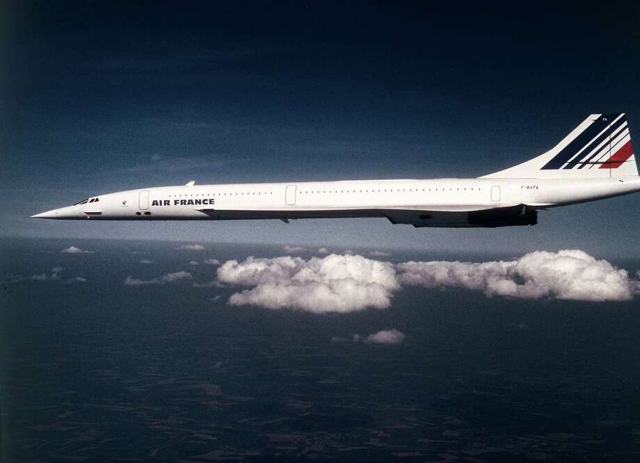 The same day, Air France's first Concorde entered service, taking off from Paris. Photo: Gamma-Keystone Via Getty Images