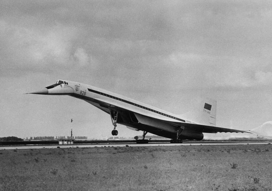 The Soviet Tupolev TU-144 beat the Concorde into flight, taking off for the first time on December 31, 1968. Photo: Popperfoto, Popperfoto.com / popperfoto.com