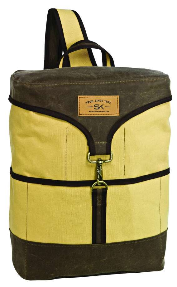 The Stormy Kromer Urban Workpack ($89)  will also be part of the Gilt MAN pop-up sale.