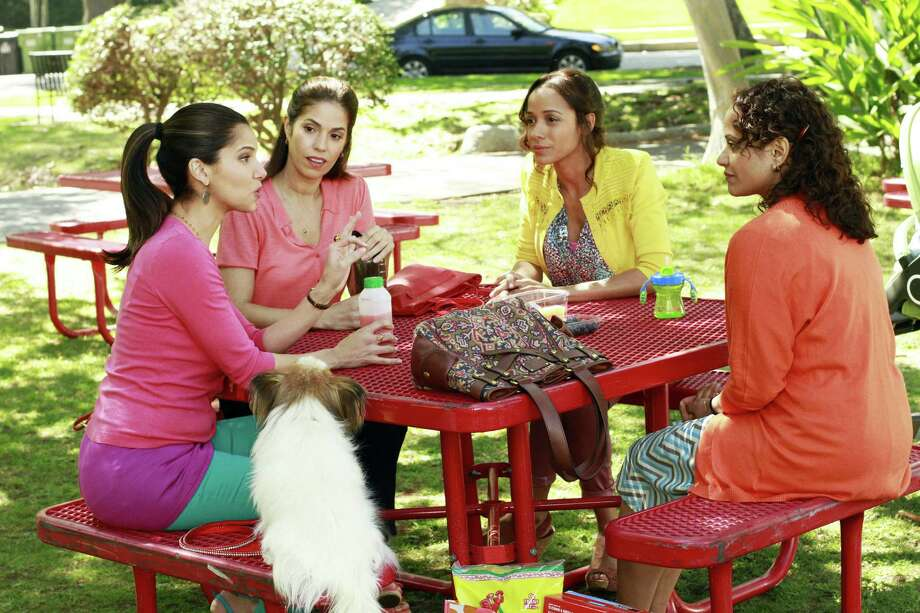 """""""Devious Maids"""" features Roselyn Sanchez (from left), Ana Ortiz, Dania Ramirez and Judy Reyes in a series from Marc Cherry and Eva Longoria of """"Desperate Housewives."""" Photo: Ron Tom / ABC"""