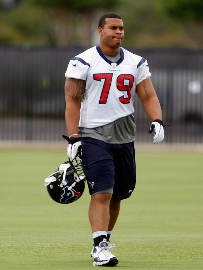 The Texans are expecting big things from Brandon Brooks in 2013.