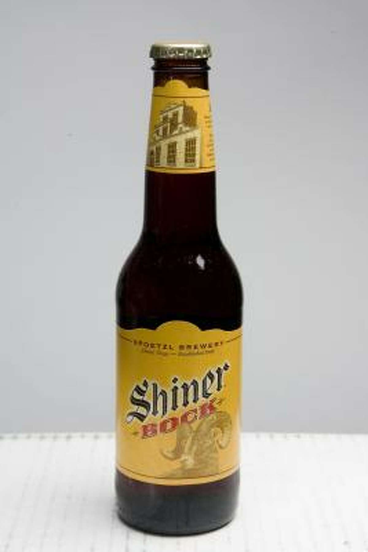 Shiner Bock is a dark, Bavarian-style beer that's a little fruity, chocolaty and hoppy. The Shiner brewery put the town of Shiner on the map.