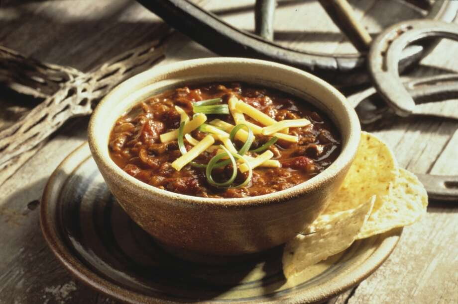 Texas' state dish is chile con carne.