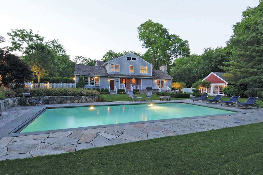 The house at 244 Compo Beach Road South in Westport, Conn.  was rented by F. Scott and Zelda Fitzgerald in 1920. Photo: Contributed Photo / Connecticut Post Contributed