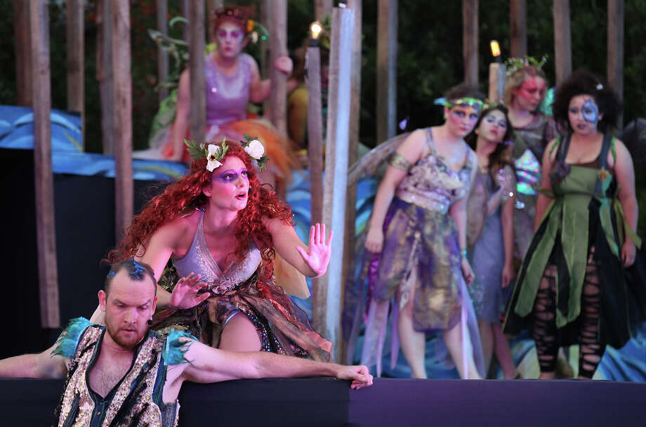 This one didn't make the lost but each summer, the Botanical Gardens plays host to Shakespeare in the Park. Lastyear's performance was of A Midsummer Night's Dream and in 2012 the Magik Theatre put on Othello. Photo: Kin Man Hui, San Antonio Express-News / ©2013 San Antonio Express-News