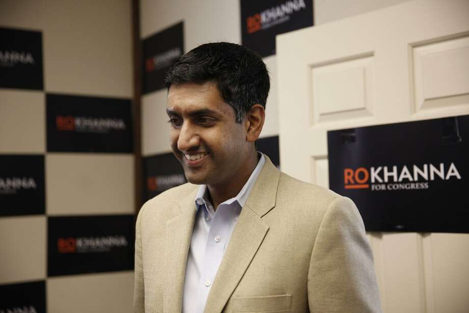 Ro Khanna greets attendees at his campaign headquarters during it's opening on Tuesday, May 28, 2013 in Fremont, Calif. Ro Khanna is running for Congress in California's 17th district. Photo: Lea Suzuki, The Chronicle