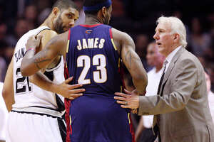LeBron wishes he could be around Popovich