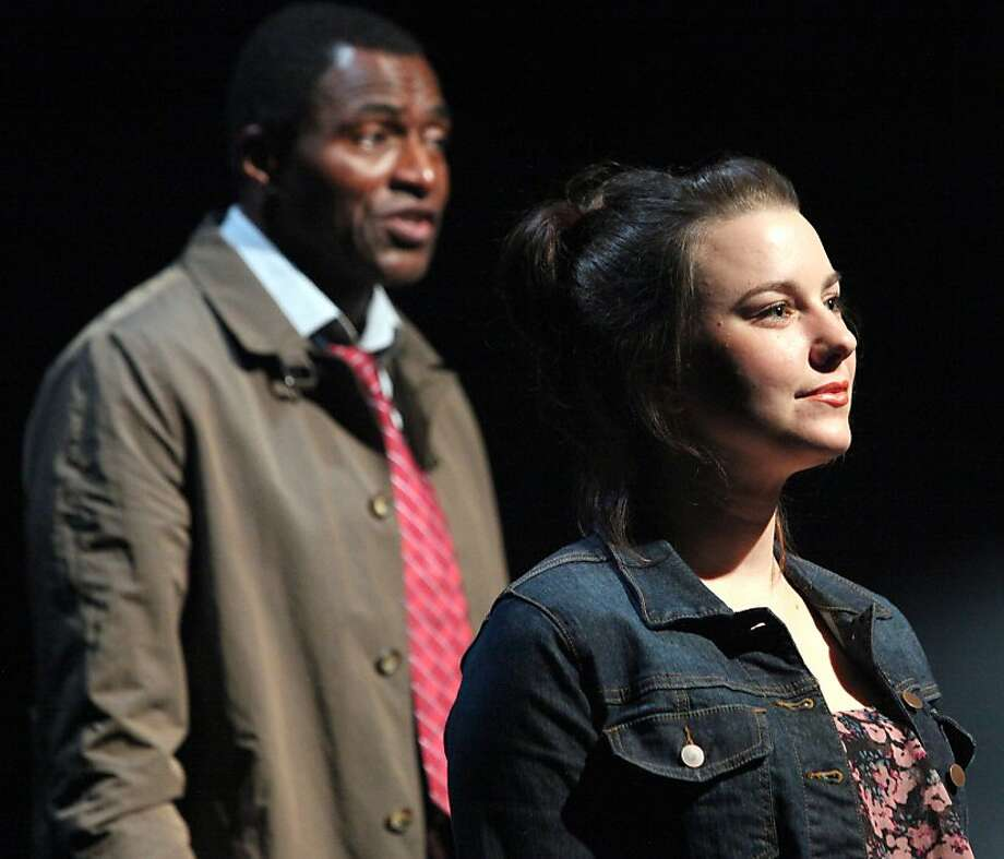 "Carl Lumbly and Marissa Keltie play two of the three narrators, named A, B and C, in Mark O'Rowe's ""Terminus."" Photo: Jennifer Reiley"