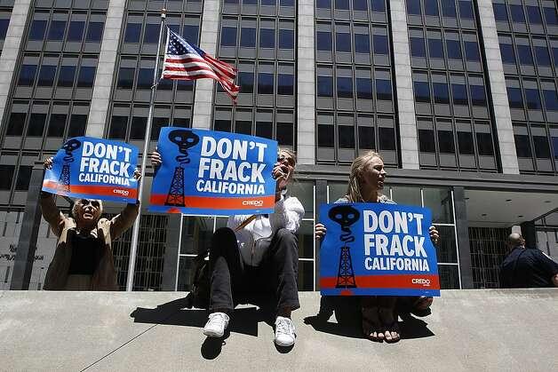Fracking foes