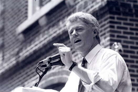 In 1992, then Governor Bill Clinton of Arkansas, who was also the front-runner for the Democratic presidential nomination, said in a television interview: 