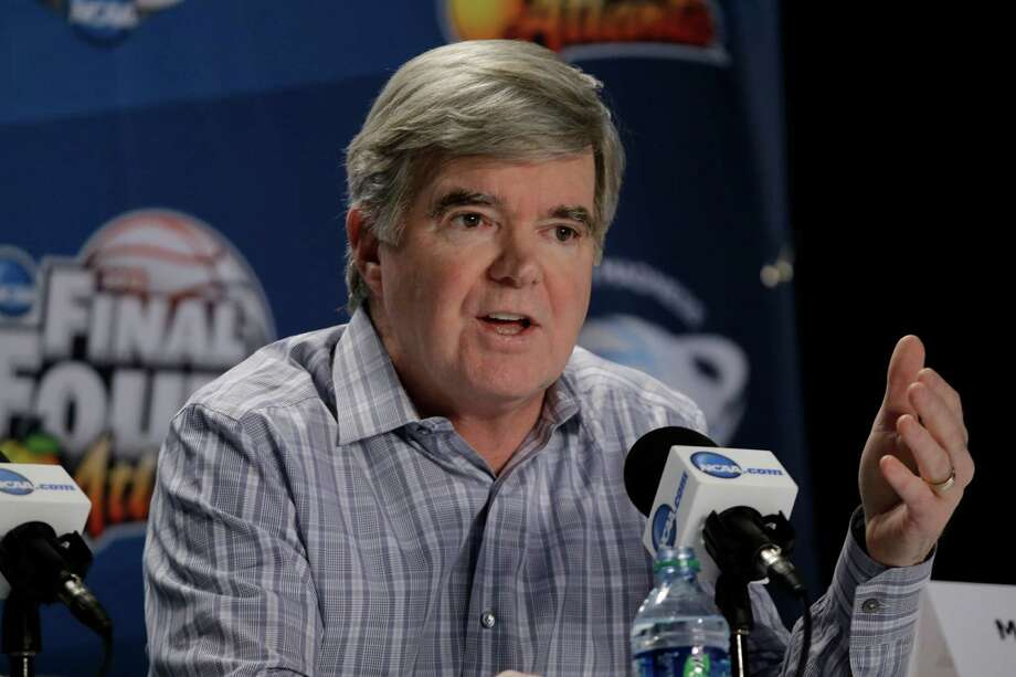 NCAA President Mark Emmert speaks at a news conference Thursday, April 4, 2013, in Atlanta.  (AP Photo/David J. Phillip) Photo: David J. Phillip, STF / AP