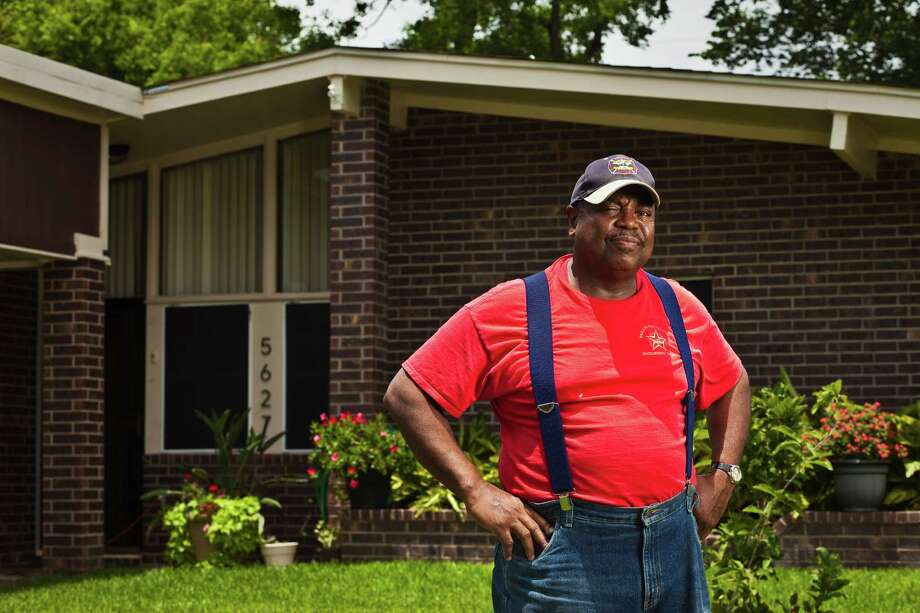 Johnny Collins, in front of his southeast Houston home,  has never protested his appraisal before. Photo: Eric Kayne / 2013 Eric Kayne