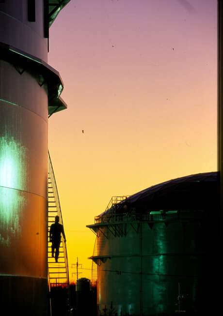 Storage tanks in Beaumont will hold refined products that can be shipped overseas. Photo: Courtesy Photo