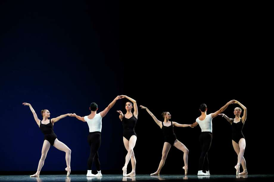 Dancers practice during the final dress rehearsal for the Pacific Northwest Ballet's performance of Director's Choice Thursday, May 30, 2013, at McCaw Hall in Seattle. Director's Choice runs for seven performances only from May 31 through June 9 at the Seattle Center's Marion Oliver McCaw Hall. Photo: JORDAN STEAD, SEATTLEPI.COM / SEATTLEPI.COM