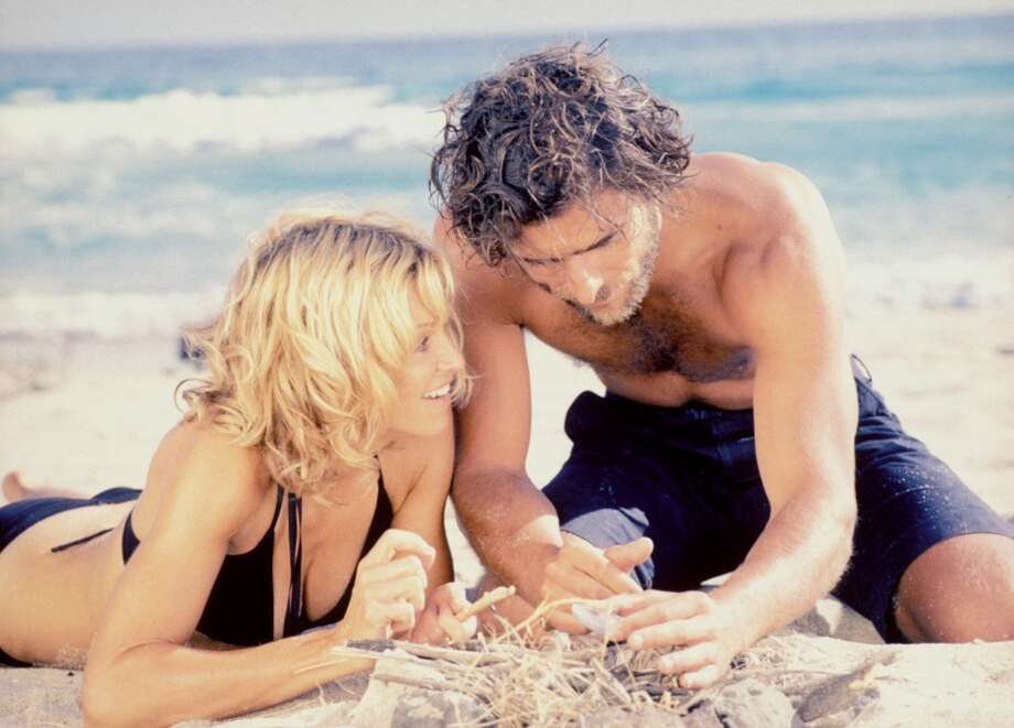"""Swept Away"" (2002) – After flinging abuse at the crew during a yachting excursion, a wealthy shrew gets her comeuppance when she ends up stranded on a deserted Mediterranean isle with a rough-edged deckhand whose brawn and working-class grit turn the tables. Available June 1"