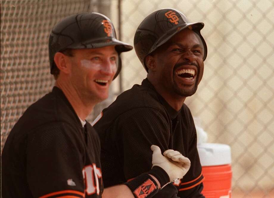 Honorable mention: Robby Thompson (left)  Thompson rarely batted over .270 but his spirit and determination made him a popular leader in the Giants clubhouse of the late 80s and early 90s.