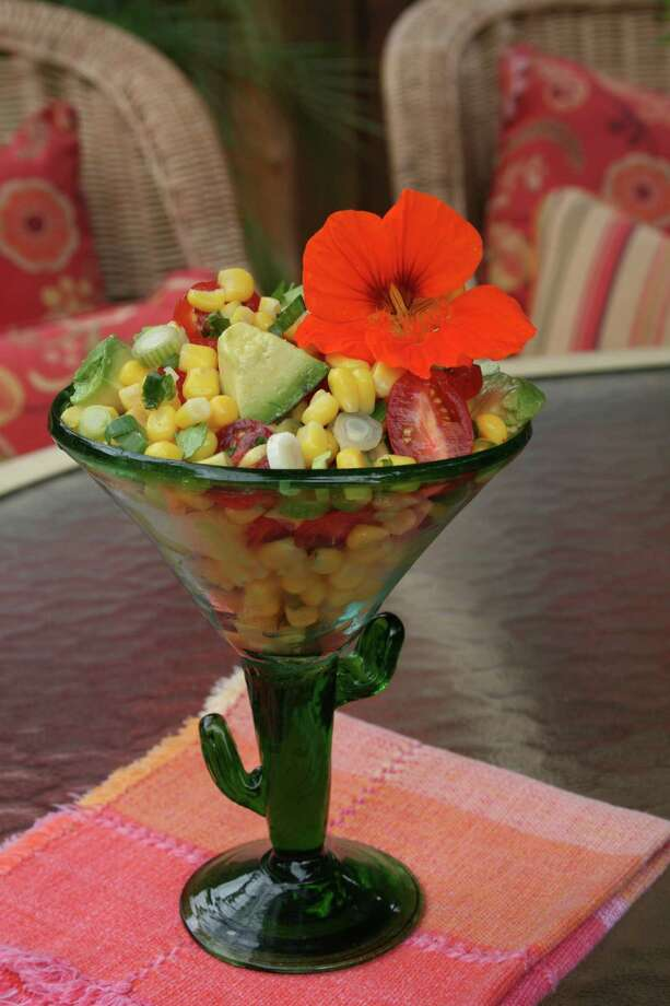 """Corn salsa, a featured recipe in """"¡Viva Tequila!: Cocktails, Cooking, and Other Agave Adventures"""" by Lucinda Hutson (courtesy Lucinda Hutson)"""