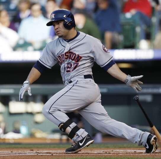 May 30: Astros 7, Rockies 5 Houston overcame a sloppy start to