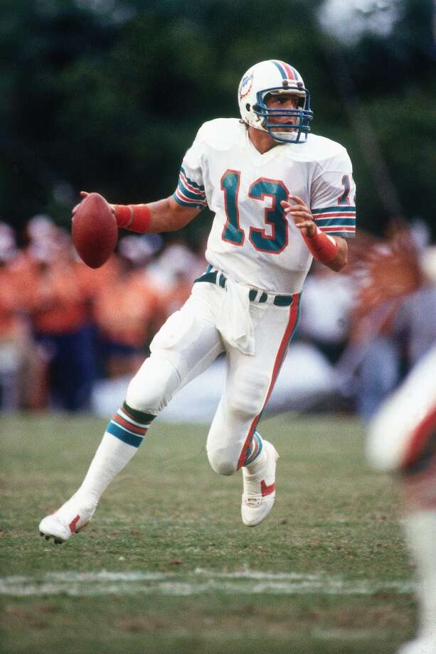 Dan Marino Professional career: NFL quarterback (1983 - 1999) Miami DolphinsNotable appearances in acting career: Ace Ventura: Pet Detective (1994), Holy Man (1998) and Bad Boys II (2003) Photo: Ronald C. Modra/Sports Imagery, Getty Images