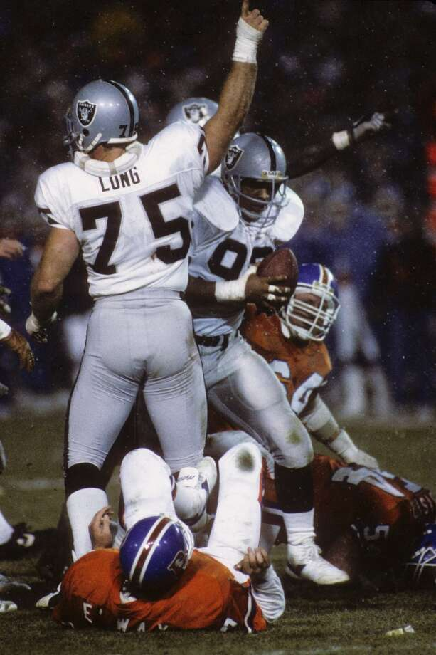 Howie LongProfessional career: NFL defensive tackle, defensive end (1981 - 1993) Oakland Raiders and Los Angeles RaidersNotable appearances in acting career:Broken Arrow (1996) and 3000 Miles to Graceland (1991) Photo: George Rose, Getty Images