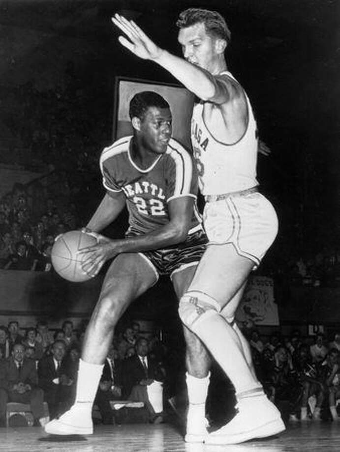 No. 22: Elgin Baylor, former Seattle University forward (P-I file photo)