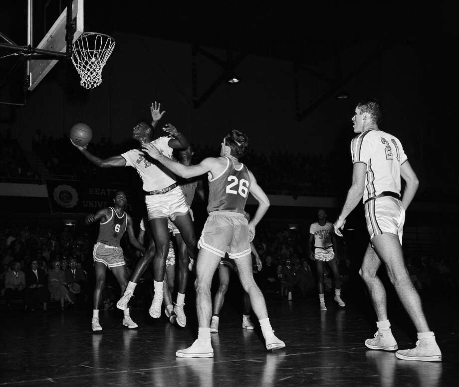 12. 1957-58 Chieftans basketballLed by head coach John Castellani and 6-foot-6 junior Elgin Baylor, the Seattle University basketball team went 23-6 and beat Wyoming, San Francisco and California in the NCAA tournament on their way to the national semifinals. There, they blew out Kansas State 73-51 before bowing out to head coach Adolph Rupp and the Kentucky Wildcats 84-72 in the national championship game.