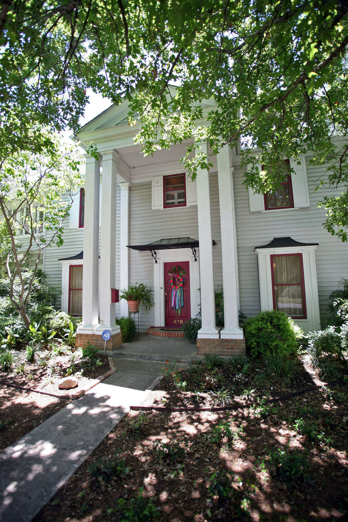 Peranteau bought her current home from her brother when he and his wife were downsizing 20 years ago. The Greek Revival house in Monticello Park was built in 1934.