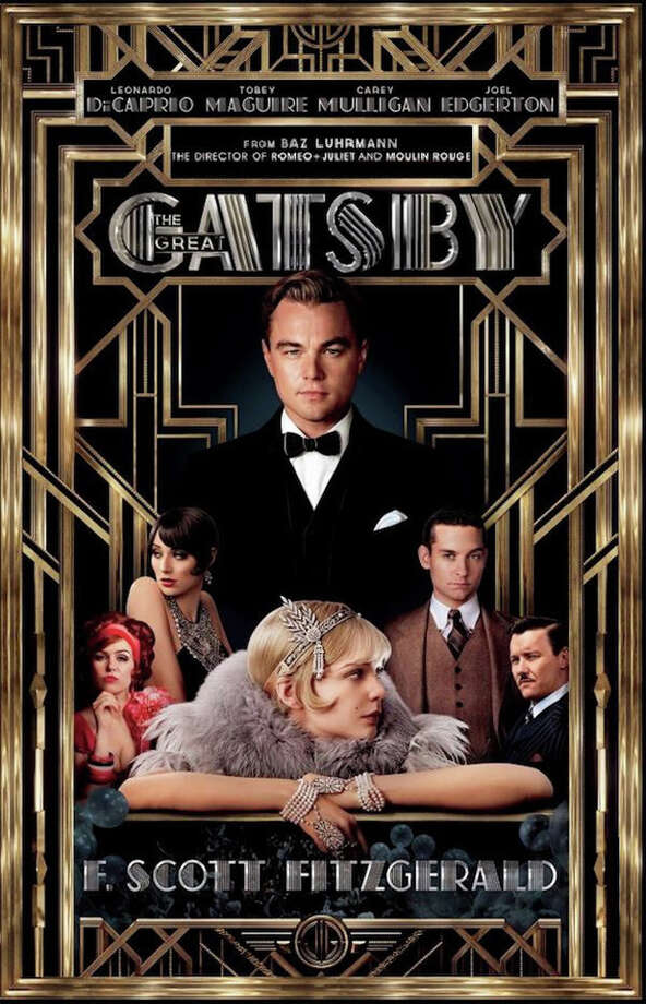 The  Great Gatsby 2013  book cover and movie poster. Photo: Contributed Photo