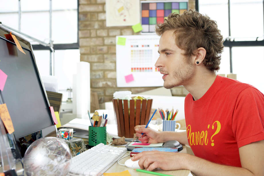 Worst degree for getting a job: 7. Commercial art and graphic design:10.5 percent unemployment. Photo: Ciaran Griffin, Getty Images / (c) Ciaran Griffin
