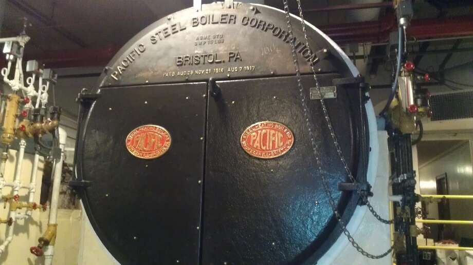 One of the original boilers from the 1930s, still working .