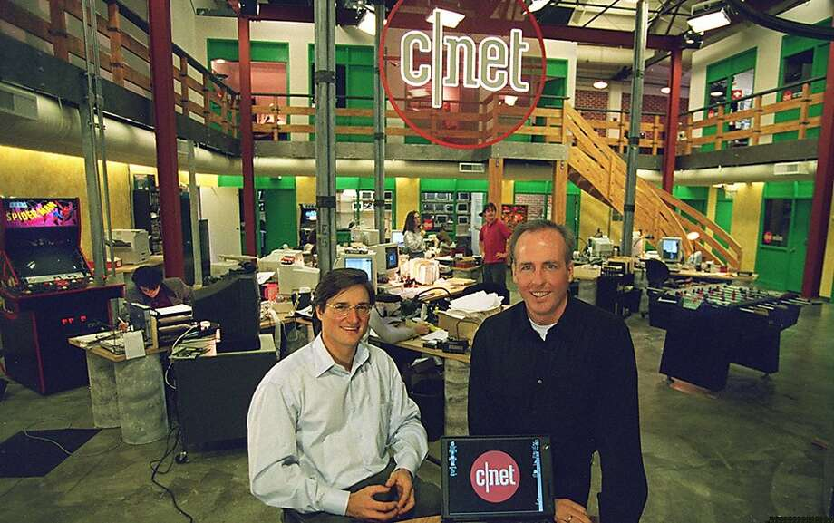 Halsey Minor, here in 1996, made $200 million when CBS bought Cnet, but declared bankruptcy in 2013. Photo: Vince Maggiora, SFC