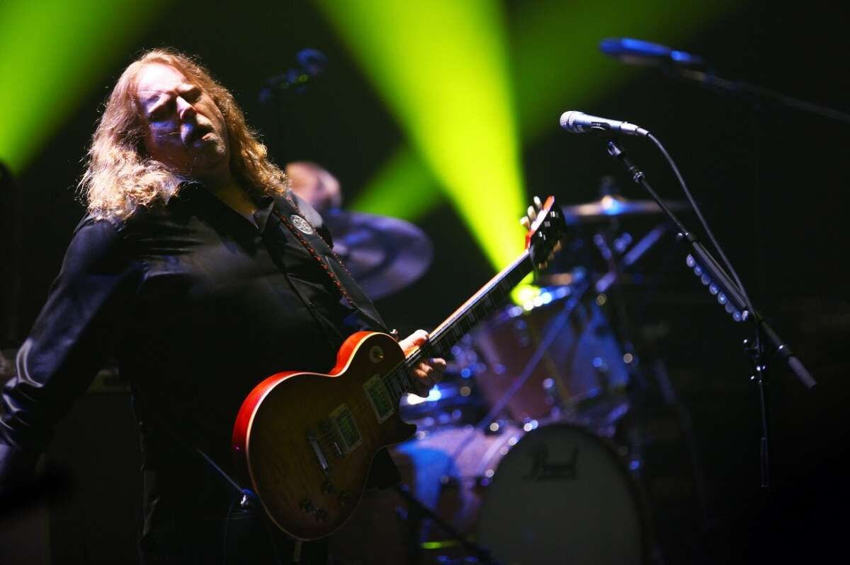 Warren Haynes of Gov't Mule performs on stage at The Beacon Theatre in New York City on Dec. 30, 2011. The band stops at Ives Concert Park in Danbury on Sunday, June 2.